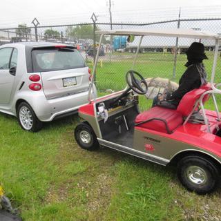 When a car is as big as a Club Car .