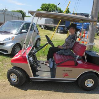Have saved hundreds of dollars using our Club Car at antique car and truck events across the Midwest
