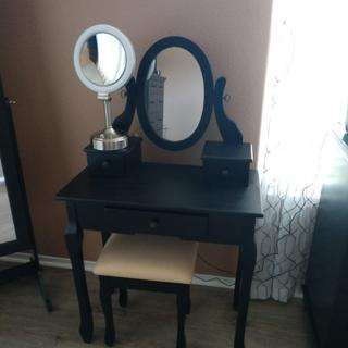 I love my quality built vanity. I now have a place to sit when I do my hair and makeup.
