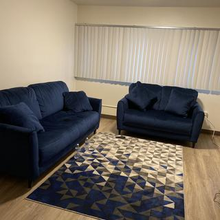 I love it!!!!  It is Very Comfortable and the pillows do not slip out which I Absolutely love
