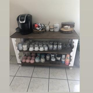 Beautiful piece! Made a beautiful coffee corner