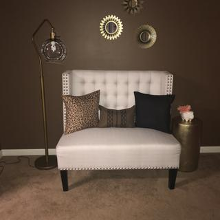 Purchased for my daughters baby shower afterwards I put on my accent wall in dining area love it!!