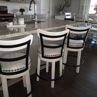 Beautiful and well made stools