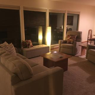 Ordered sofa and two matching recliners. Great color. Comfortable. Appreciate the clean lines. Thx!