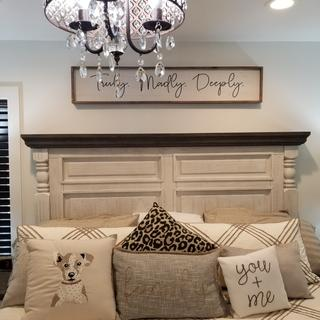 We love our Halalance Bedroom Set! We get so many compliments on it.