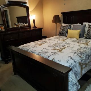 I love my bedroom set!!!!