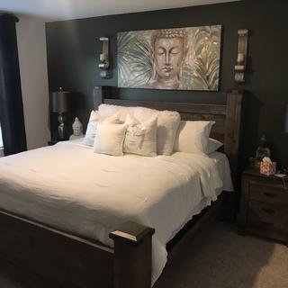 I decorated my master bedroom  LaDivas Den