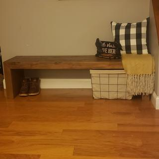 Perfect for little entryway.