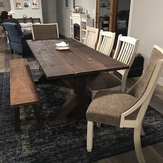 These chairs are a great fit with my farm table!