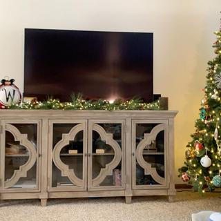 Love, love, love our new tv stand!