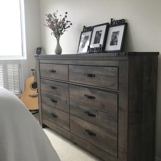 Really love my new dresser! I also bought the matching nightstand. Looks great!