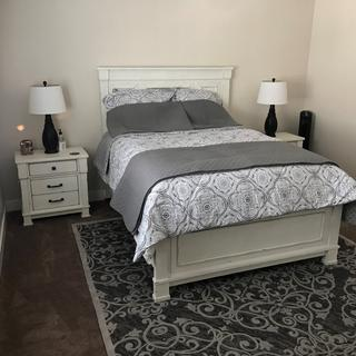 We love our new Jennily Bedroom set.