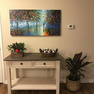 Love my new entry table