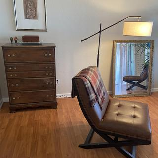 Love the chair. It's very well made and looks elegant.