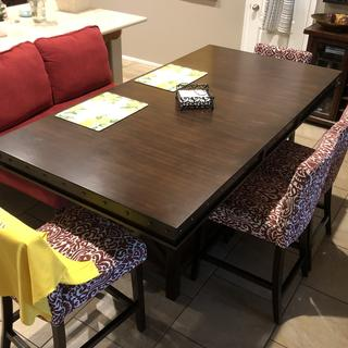 New breakfast table