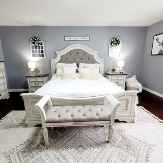 I love, love this set. I get compliments all the time. Perfect for a modern farmhouse bedroom.