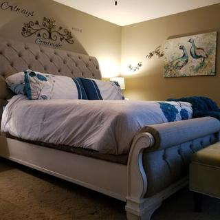 King size side of bed