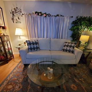 Living room no love seat