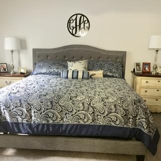 Jerary King Upholstered Bed Ashley Furniture Homestore