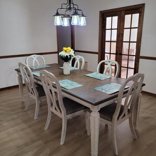 The most amazing dining room table!