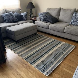 We love our new couches, rug and ottoman! Great experience!! Thank you!!