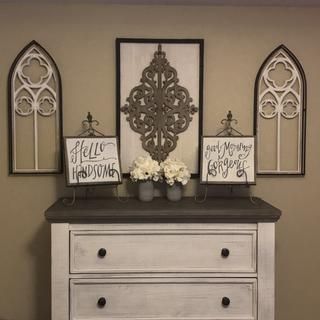 Dresser goes fabulous with my farmhouse look!! Love it!