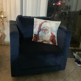 Love my chair.  I only share it with Santa Claus.