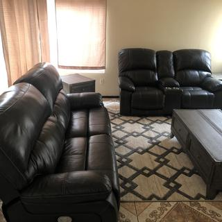 Love our new 5 piece living room set from Ashley's
