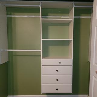 Great closet system!