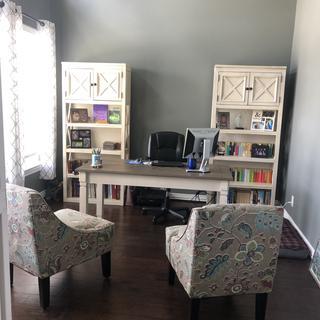 Bolanburg Desk and Bookshelves