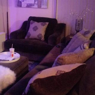 These couches are AMAZING!! They are very big and very deep as well. Love! Worth EVERY PENNY.