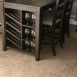 Love my new table... works so well in a small space.