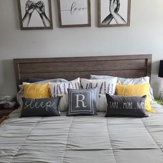 Excellent buy! I purchased my bedroom furniture from another store and this headboard matched