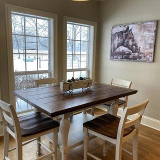 Marsilona Counter Height Dining Extension Table and Chairs