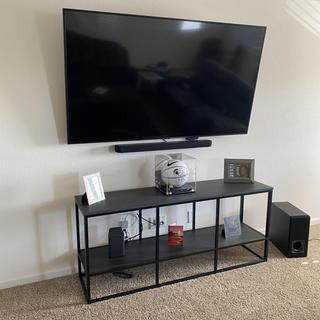 The Man Cave and the TV Stand works well together