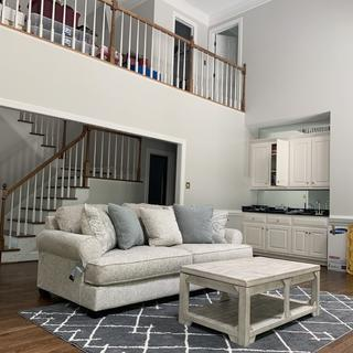 Monaghan sofa fit perfectly. Plan to get loveseat