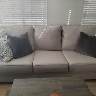 Nice fabric and pillows