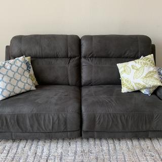 Great Recliner Sofa in Living Room.