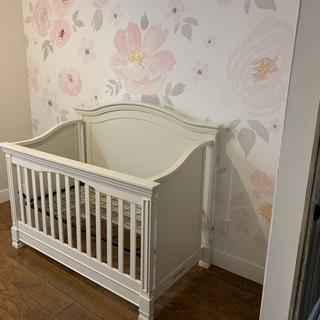 Not a true white crib