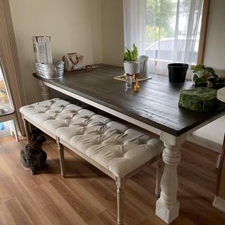 Beautiful, sturdy farmhouse table