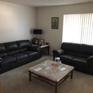 I love my sofa and love seat