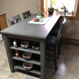 Great counter height table!