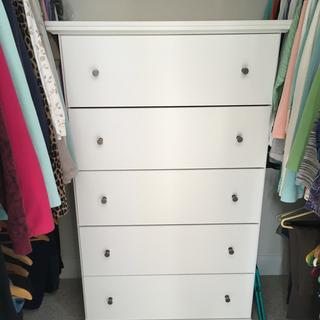 The cabinet worked beautifully in my closet.  Exactly what I was searching for.