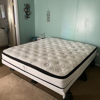 Love this bed! Seemed very firm at first, but after the first couple nights it's great!