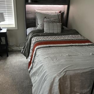 Twin Bed, Twin Panel Headboard,
