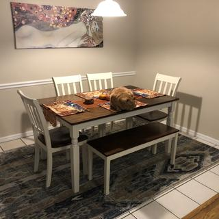 Love it! Everything I wanted and more! Quality, gorgeous table!
