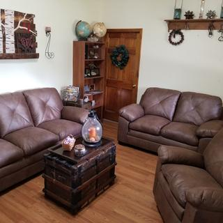 I love our new Ashley furniture! It exceeded our expectations on quality and comfort!