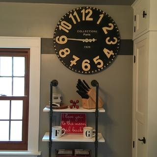 Love This Large Urban Clock Looks Great In My Kitchen