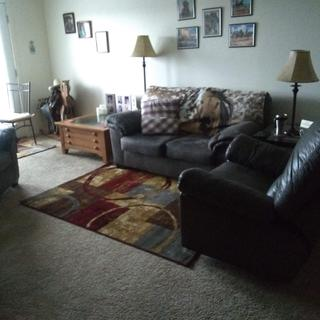 It goes with the love seat and chair I got 2 years ago.