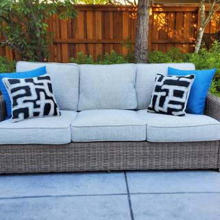 beautiful outdoor sofa